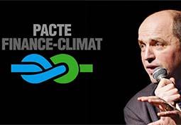 La finance au service du climat