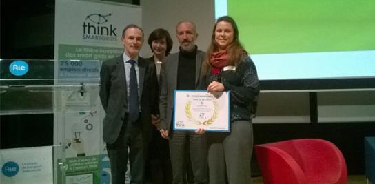 Bravo à Etta Gover-Silva, prix de thèse <i>Think Smartgrids</i> 2018
