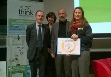 Prix de thèse Think Smartgrids France pour Etta Grover-Silva, docteur PERSEE 2018
