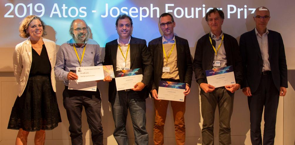 1<sup>er</sup> Prix Atos – Joseph Fourier 2019 pour MINES ParisTech