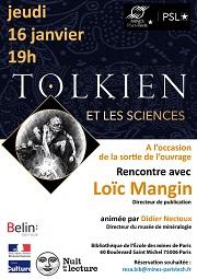 Soirée rencontre Tolkien et les sciences