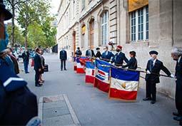 Libération : hommage en images
