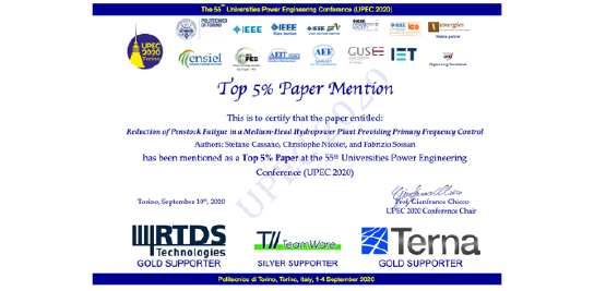 """""""Top 5% Paper Mention"""""""