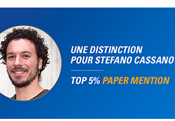 Félicitations à Stefano Cassano