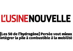 PERSEE parmi « Les 50 de l'hydrogène » en France