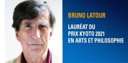 Bruno Latour lauréat du Prix Kyoto 2021