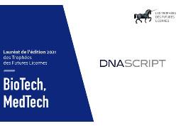 DNA Script, Future Licorne dans la catégorie Biotech & Medtech